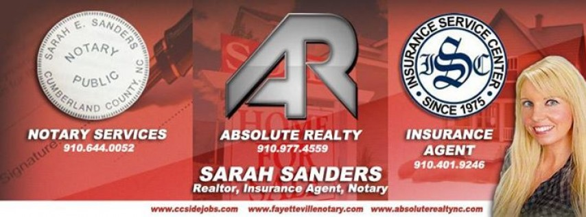 Sarah Sanders- Insurance Agent, Realtor, Notary