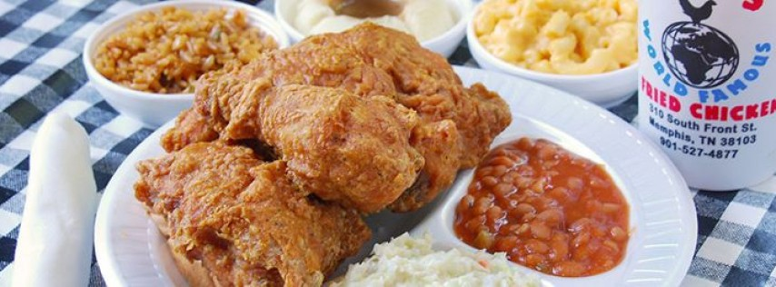 Gus's World Famous Fried Chicken Detroit Michigan