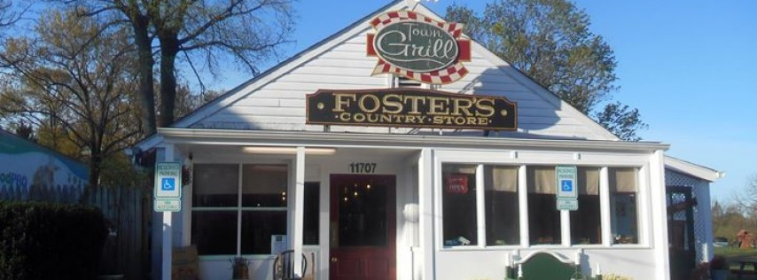 Town Grill now at Fosters Country Store