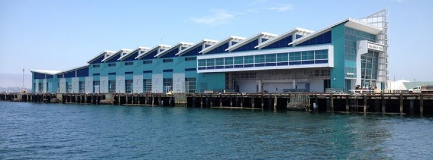 The Port Pavilion on Broadway Pier