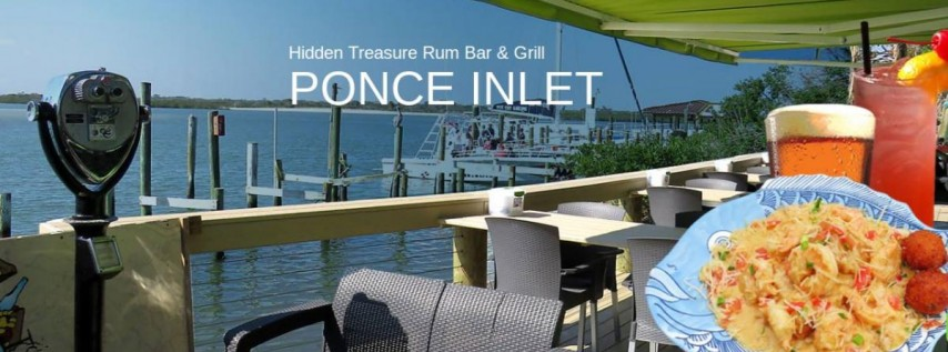 Hidden Treasure Rum Bar & Grill on Ponce Inlet