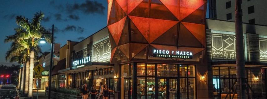 Pisco y Nazca Ceviche Gastrobar Doral