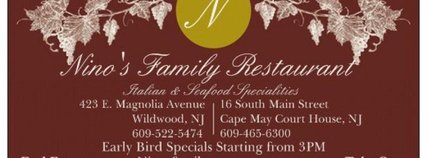 Nino's Family Restaurant Wildwood