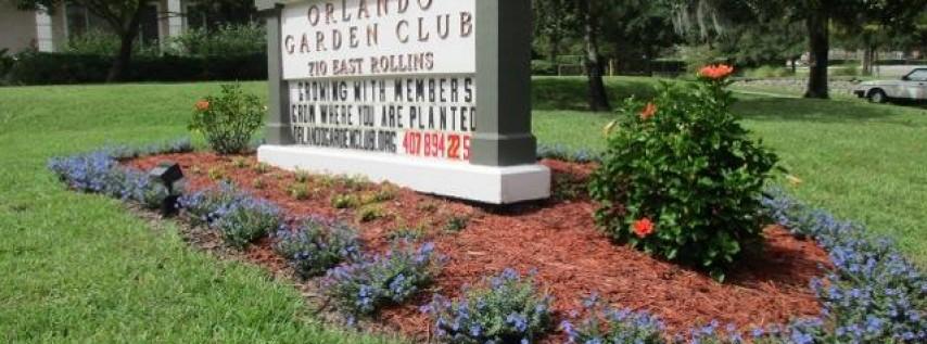 Orlando Garden Club Inc Recreation College Park Orlando