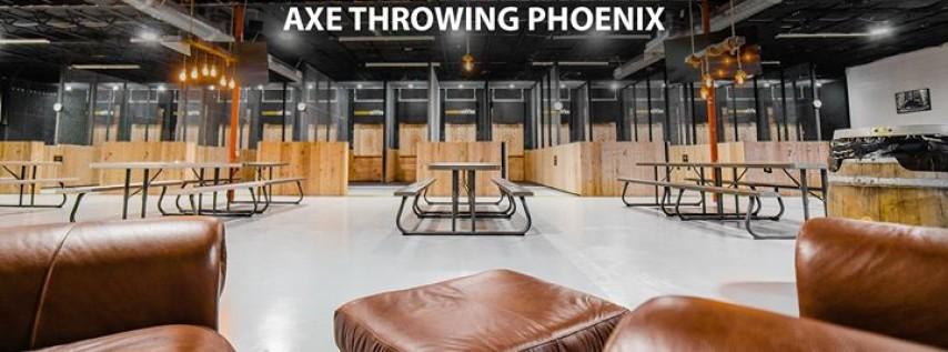Lumberjaxes Axe Throwing Phoenix/Tempe
