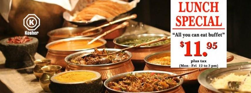 Ahimsa Indian Vegetarian Cuisine Kosher and Jain Food Available