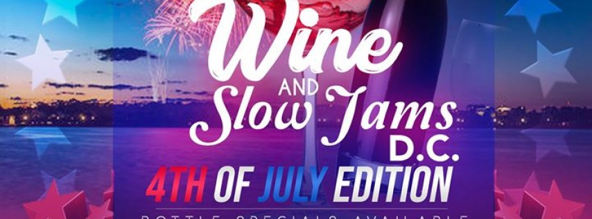 Wine And Slow Jams DC