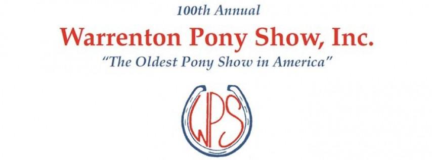 The Warrenton Pony Show