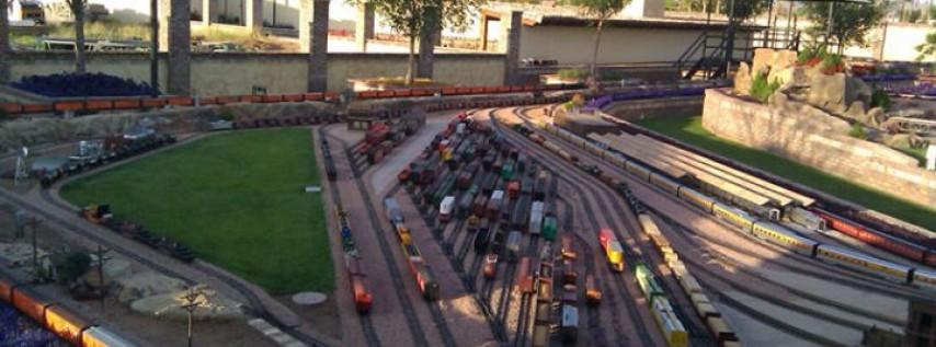 Sirrine's Train Yard