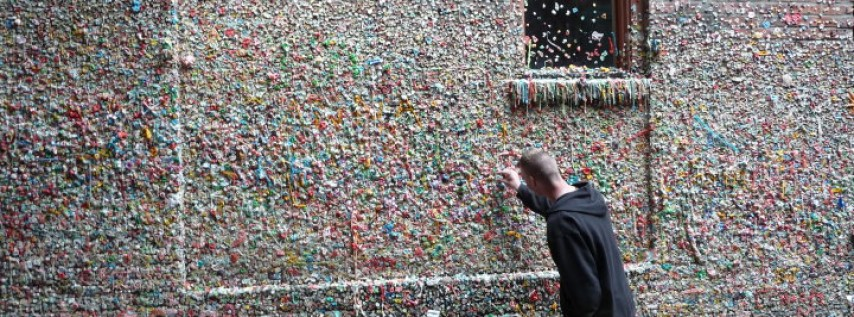 The Great Gum Wall of Seattle