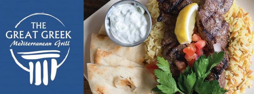 The Great Greek Mediterranean Grill Southwest