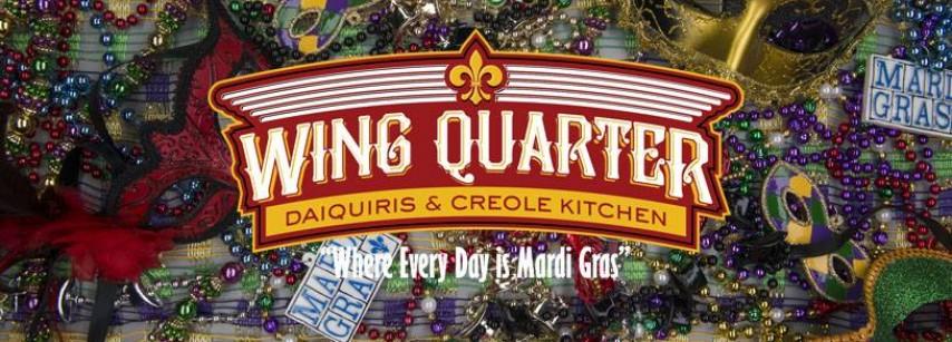 Wing Quarter Daiquiris & Creole Kitchen