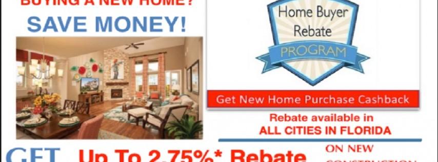 Sunshine New Home Rebates Florida