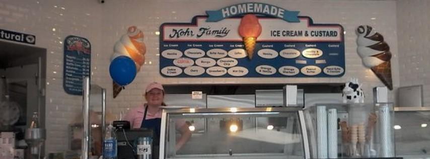 Kohr's Family Frozen Custard and Ice Cream   Madeira Beach