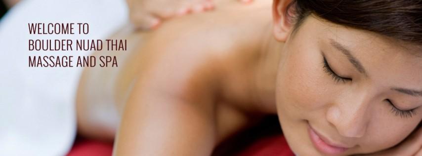 Boulder Nuad Thai Massage