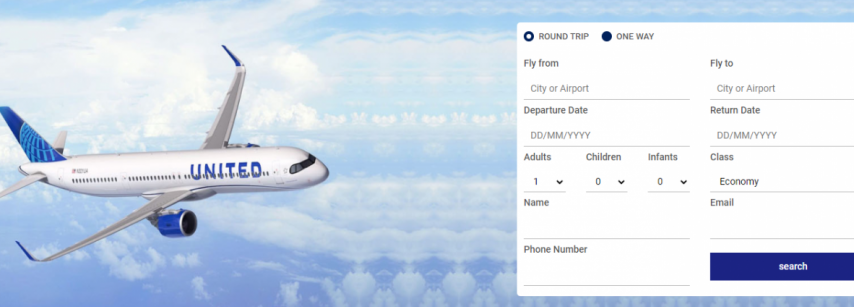 United Airlines Flight Tickets