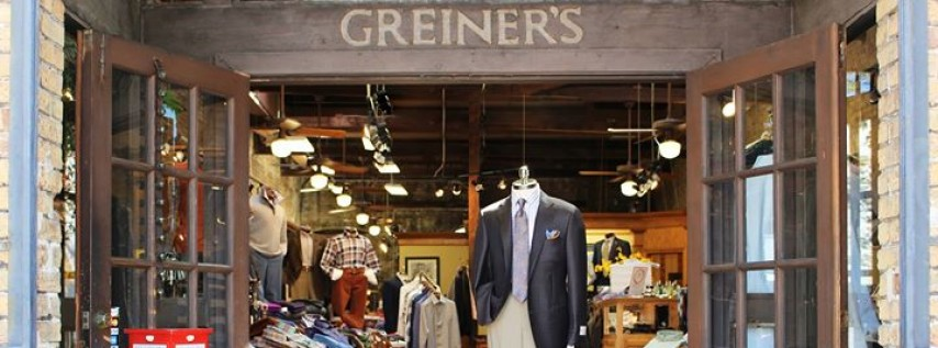 Greiner's Fine Men's Clothing