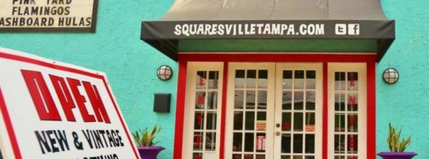 Squaresville Vintage Clothing Retro Home Decor Shopping