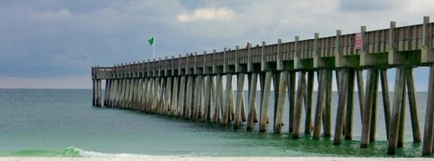 Pensacola Beach Sunset Pier