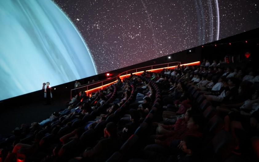 Burke Baker Planetarium Travel Museum District Houston