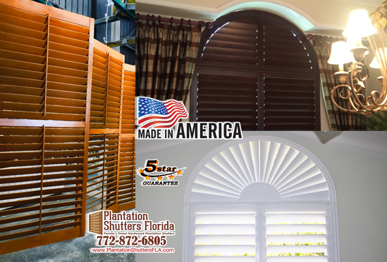 Plantation Shutters Florida - Made in America with Pride