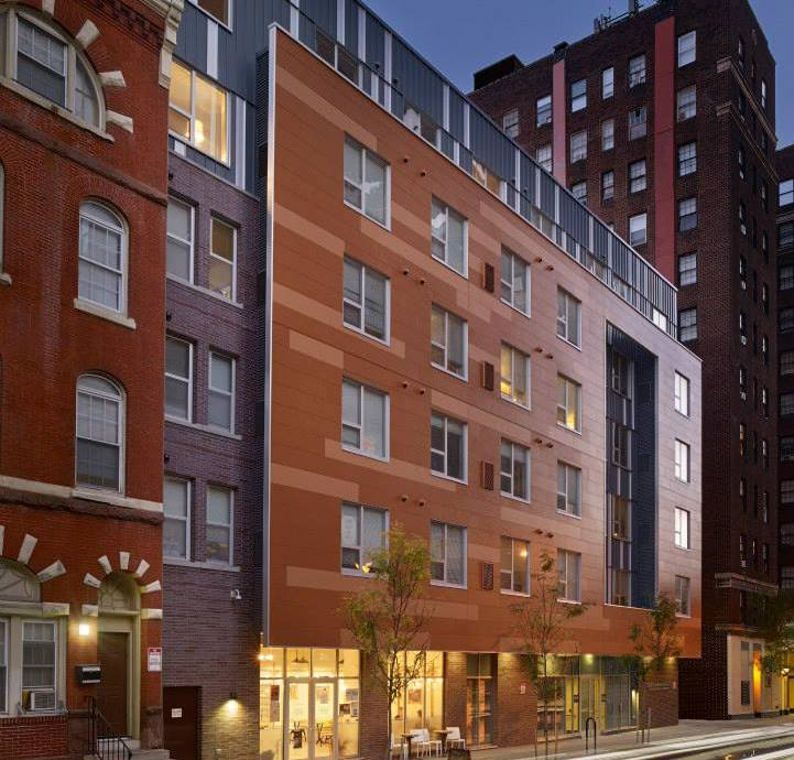 Center City Philadelphia Apartments: John C. Anderson Apartments