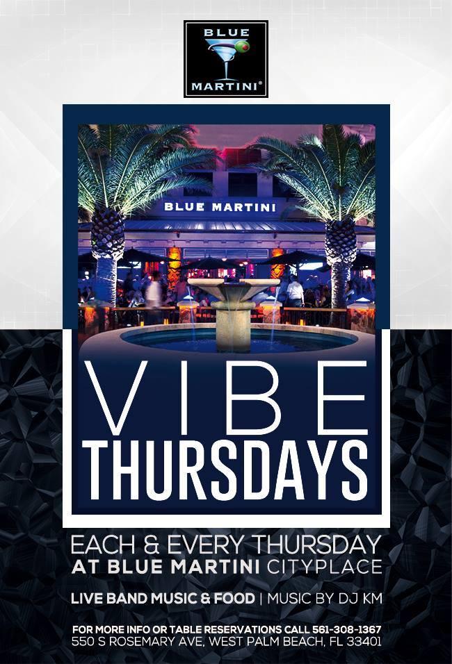Blue martini city place west palm beach