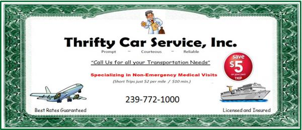 Car Service From Fort Myers To Clearwater Beach