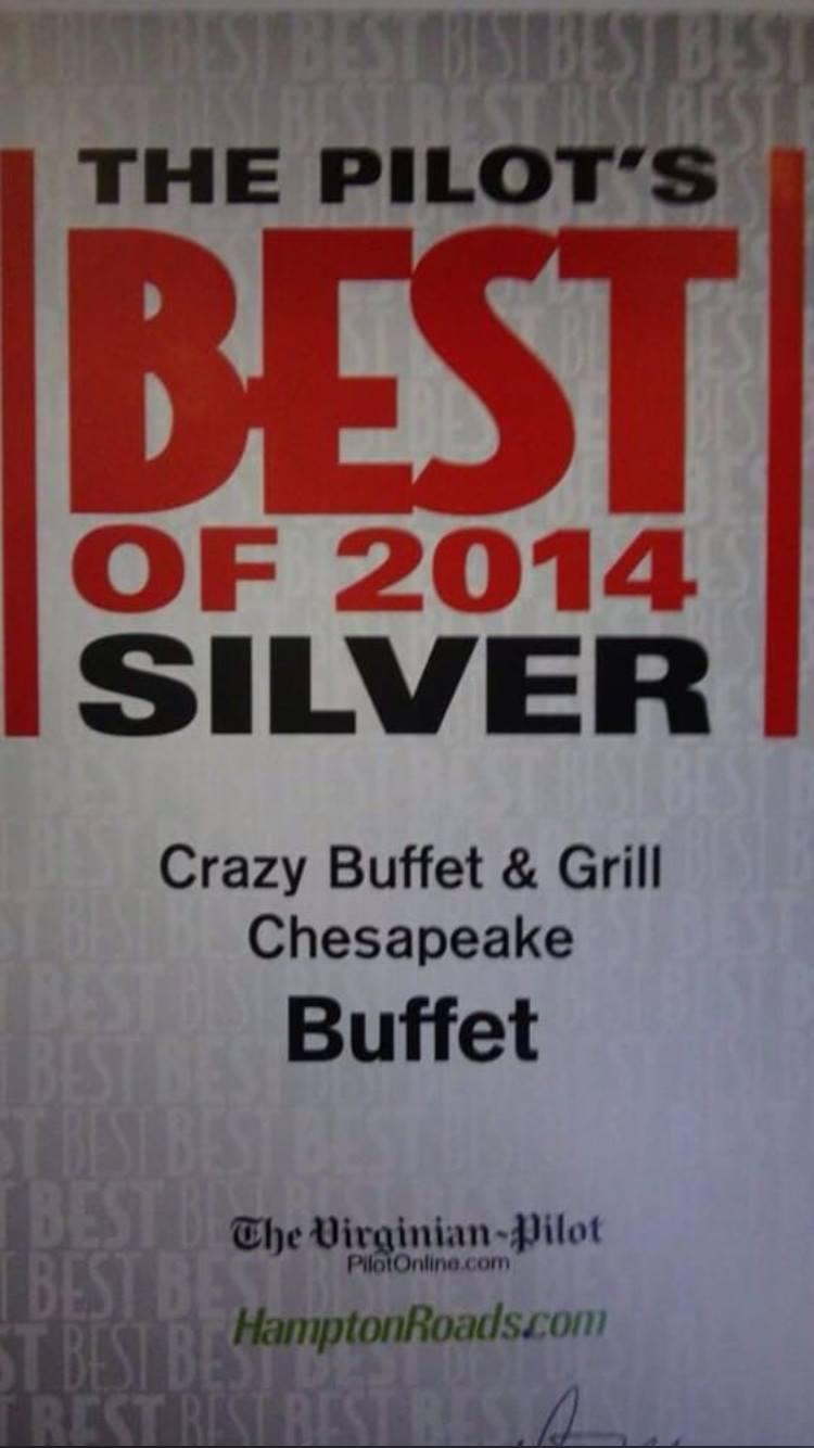 Crazy Buffet - Restaurant - Chesapeake - Chesapeake