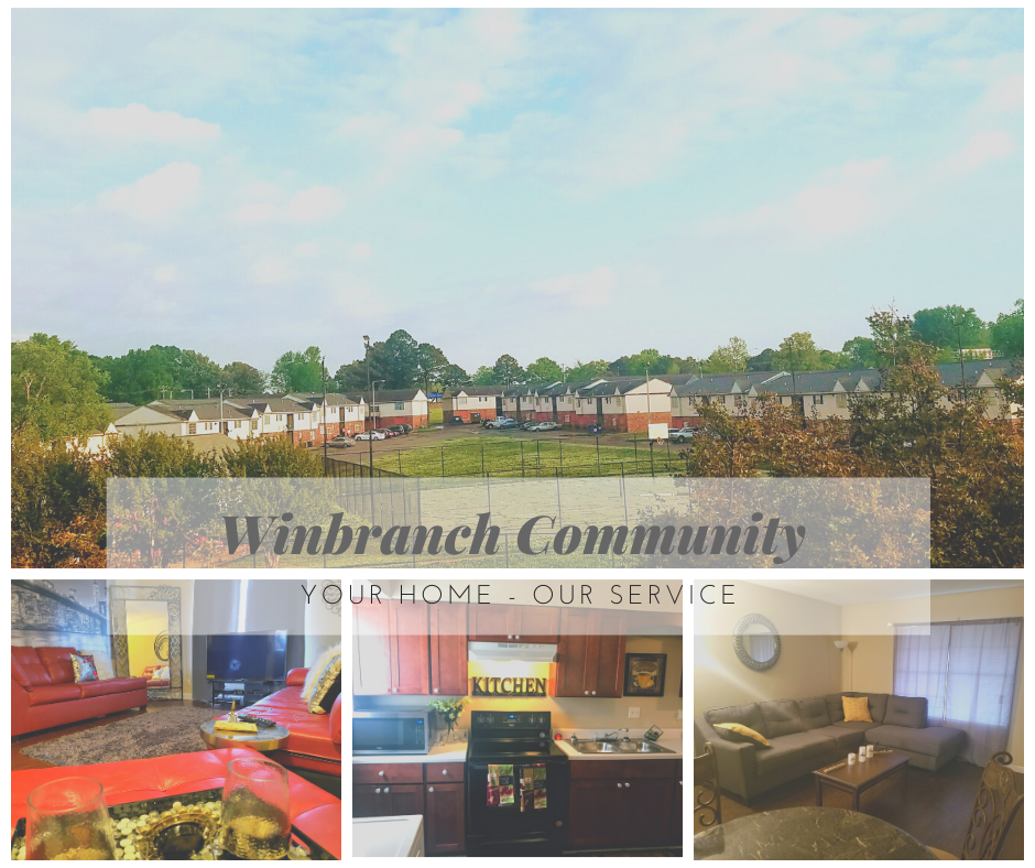 Breezy Point Apartments In Memphis Tennessee: Winbranch Complex