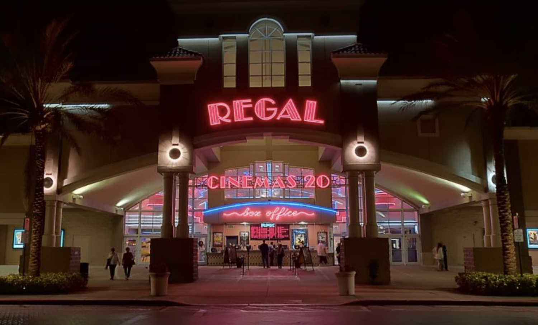 Regal RPX Movie Theatre in Winter Park Village, Orlando, FL