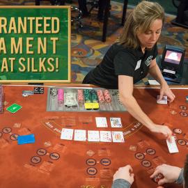 Silks poker room tournament schedule