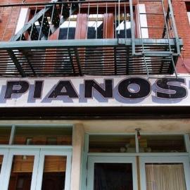 PIANOS (UPSTAIRS LOUNGE)