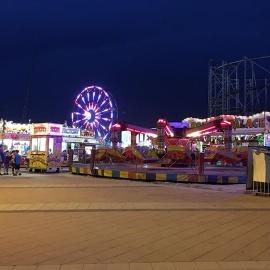 Daytona Beach Boardwalk Amusement Rides