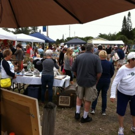 The Vintage Flea at Ginny's & Jane E's