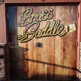 Brass Saddle