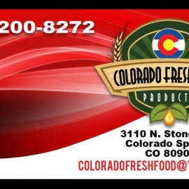 Colorado Fresh Food products