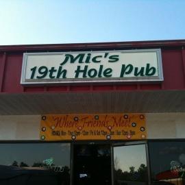 Mic's 19th hole pub