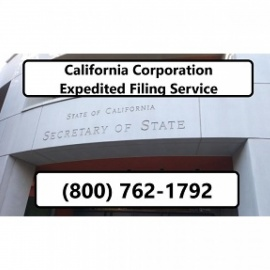 California Corporation Expedited Filing Service