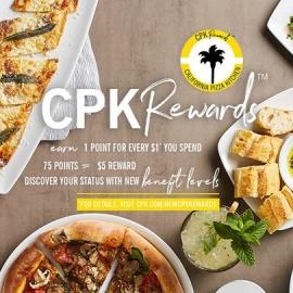 California Pizza Kitchen Delivery Tampa