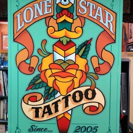 Lone star tattoo health beauty fort worth dallas for Fort worth texas tattoo shops