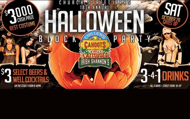 Church St. Bars 18th Annual Halloween Block Party