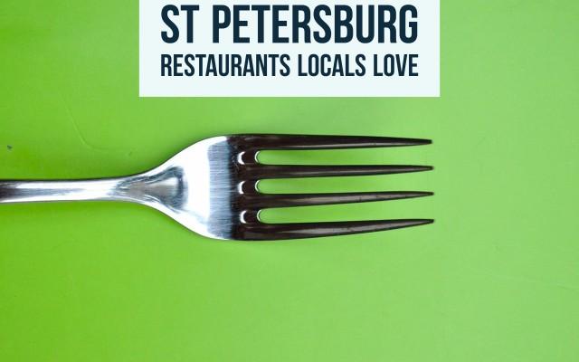 Downtown St. Petersburg Restaurants