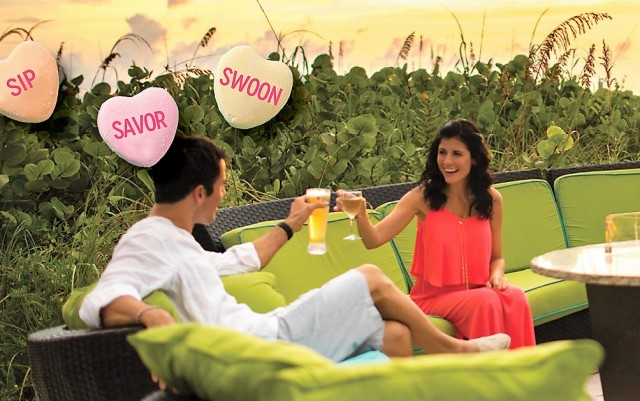 Escape with a Passion Valentine's Day with this Sip, Savor & Swoon Package