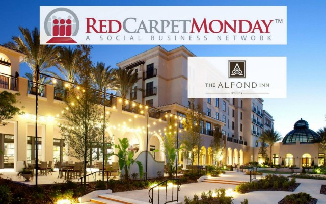 RedCarpetMonday Orlando Networking Event at The Alfond Inn