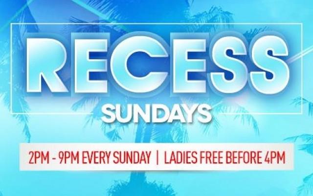 Recess Sundays at Beach Bar and Restaurant