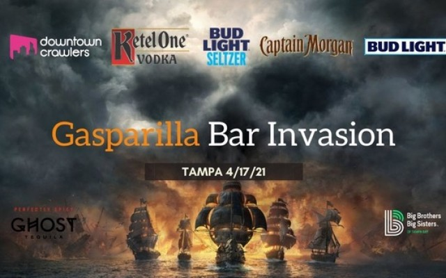 Get Ready For A Bar Crawl Invasion Gasparilla Style!