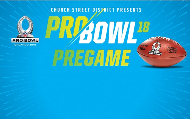 Time to throw down at the biggest Probowl Pregame Party in town!