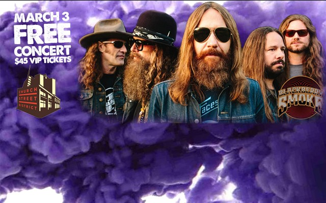 Blackberry Smoke at Church St District