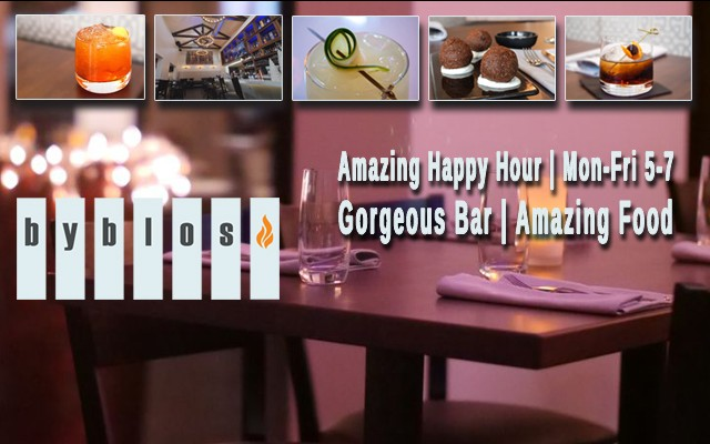 Byblos Cafe Has Tons of Happy Hour Specials